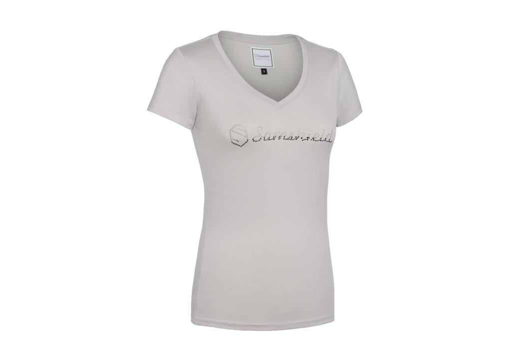 Samshield T shirt Alexa Light Grey