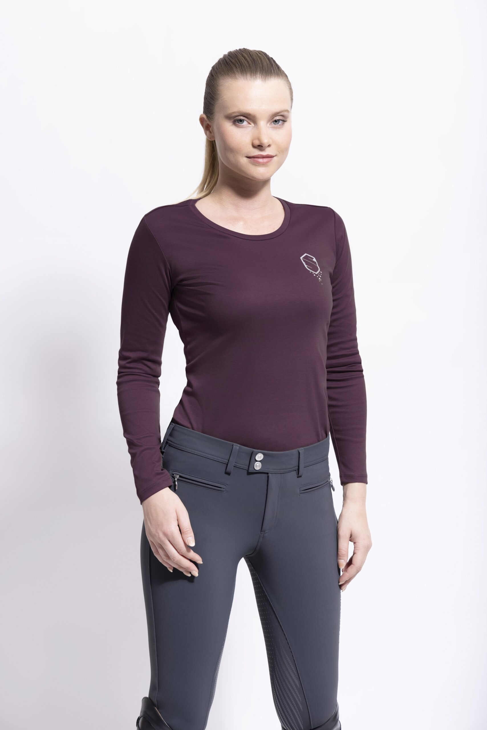 Samshield-T-shirt-FW21-Axelle-Aubergine-